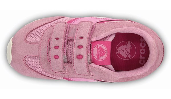 Kids Retro Sprint Sneaker, Carnation/Neon Magenta 5