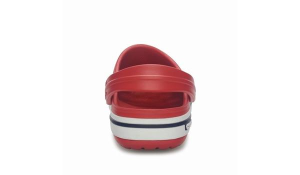 Kids Crocband 2.5 Clog, Red/Navy 2