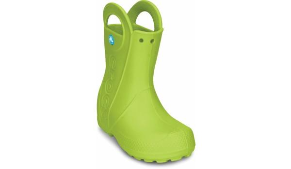 Kids Handle It Rain Boot, Volt Green 5
