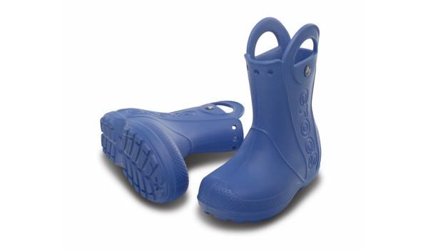 Kids Handle It Rain Boot, Sea Blue 4