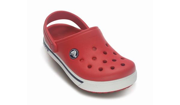 Kids Crocband 2.5 Clog, Red/Navy 5