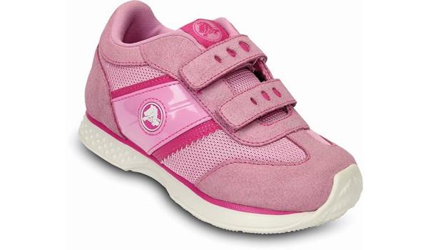 Kids Retro Sprint Sneaker, Carnation/Neon Magenta 6