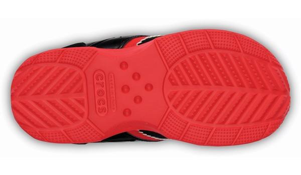 Kids Retro Sprint Sneaker, Black/Red 3
