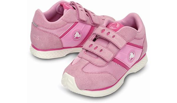 Kids Retro Sprint Sneaker, Carnation/Neon Magenta 4