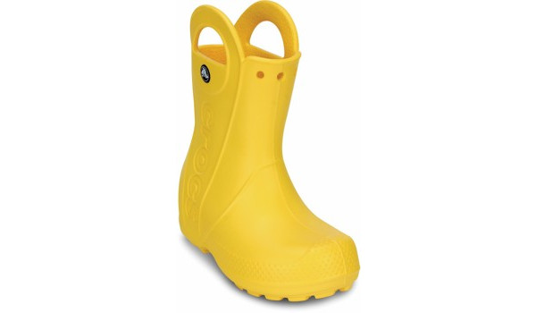 Kids Handle It Rain Boot, Yellow 5