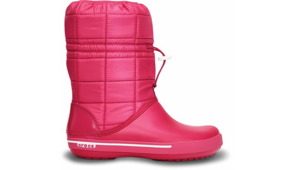 Crocband 2.5 Winter Boot, Raspberry/White 1