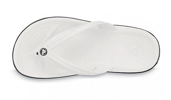 Crocband Flip, White