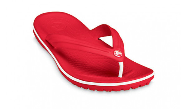 Crocband Flip, Red 6