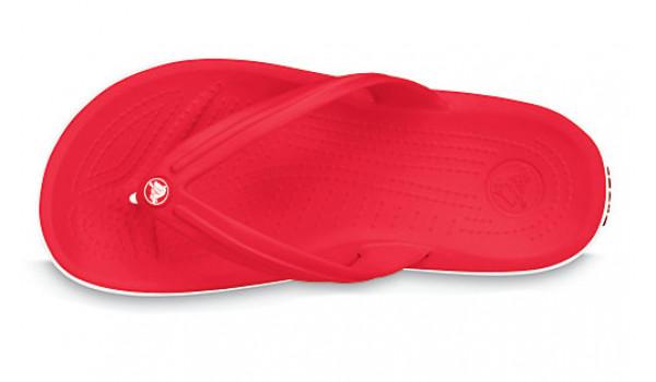 Crocband Flip, Red 5