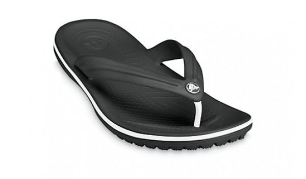 Crocband Flip, Black 5
