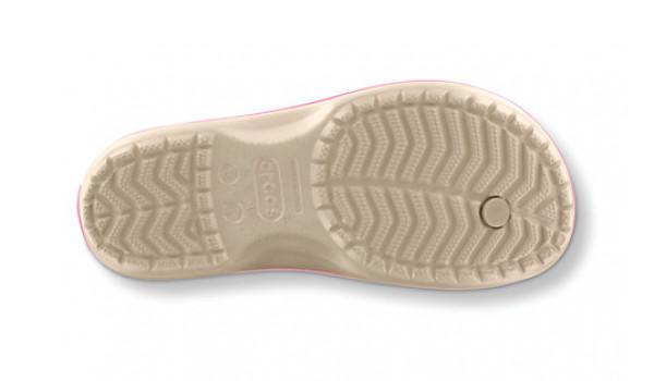 Crocband Flip, Stucco/PinkLemonade 3