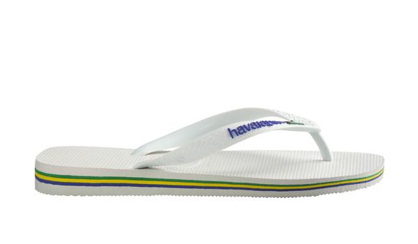 Brasil Logo Flip, White 2