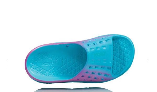 Ora Recovery Slide Women, Blue Atol/Pink 3
