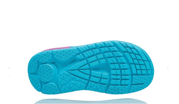 Ora Recovery Slide Women, Blue Atol/Pink 4
