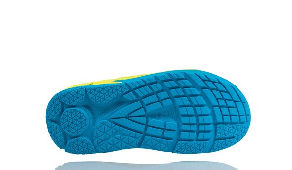 Ora Recovery Slide Men, Blue/Citrus 4