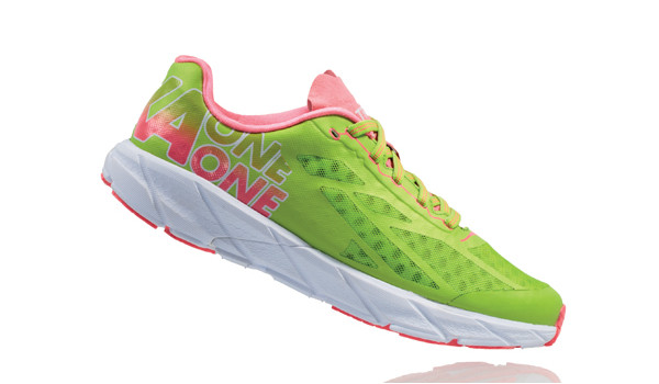 Tracer Women, Bright Green/Neon Pink 2