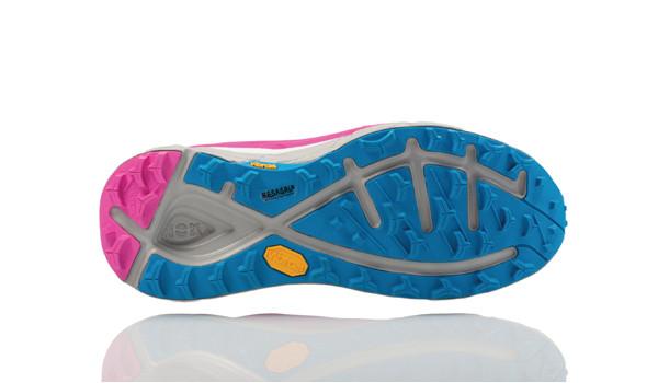 Speedgoat Women, Neon Fuchsia/Blue Jewel 4