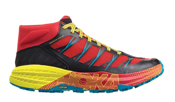 Speedgoat Mid WP Men, Chinese Red/Caribbean Sea 1