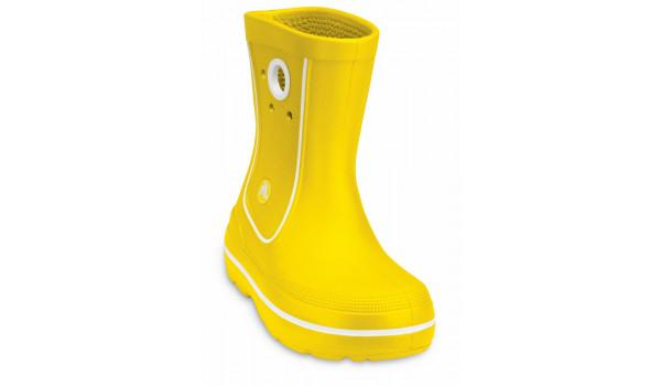 Kids Crocband Jaunt, Yellow 6