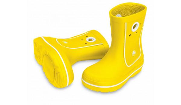 Kids Crocband Jaunt, Yellow 4