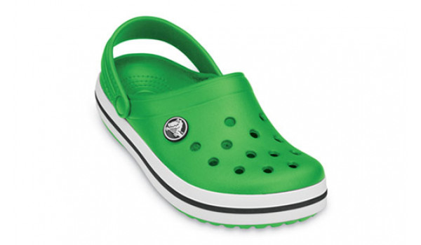 Kids Crocband, Lime/Lime 5