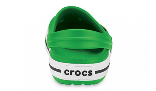 Kids Crocband White, Lime/Lime 2