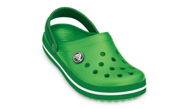 Kids Crocband, Lime/Kelly Green 5
