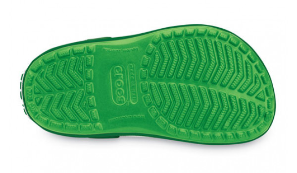 Kids Crocband, Lime/Kelly Green 3