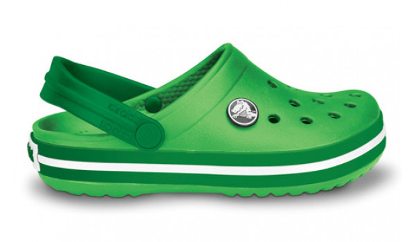 Kids Crocband, Lime/Kelly Green 1