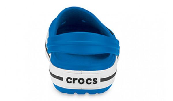Kids Crocband White, Sea Blue/Sea Blue 2