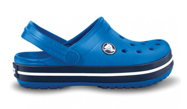 Kids Crocband, Sea Blue/Navy 1