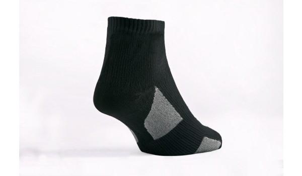 Thin Socklet, Black/Grey 4
