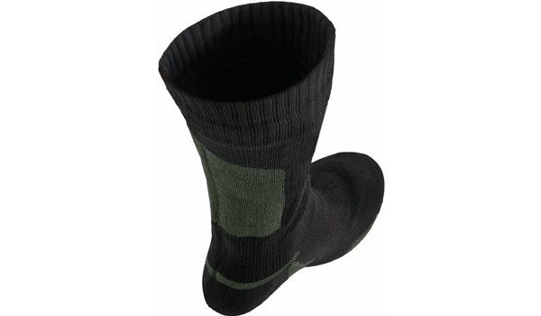 Walking Sock, Black/Olive 4