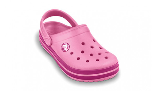 Kids Crocband, Pink Lemonade/Berry 5