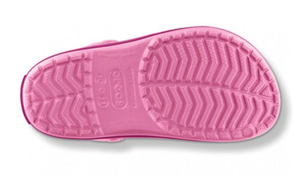 Kids Crocband White, Pink Lemonade/Berry 3