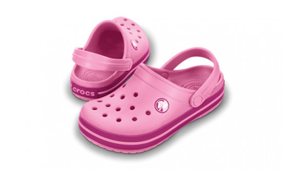 Kids Crocband, Pink Lemonade/Berry 4