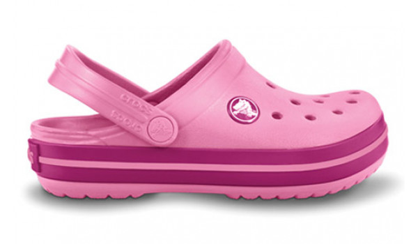 Kids Crocband, Pink Lemonade/Berry 1