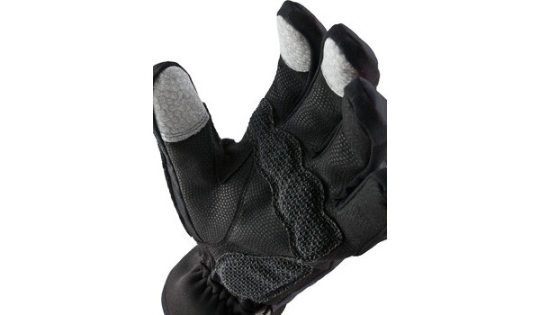 Performance Road Cycle Glove, Grey/Black 5