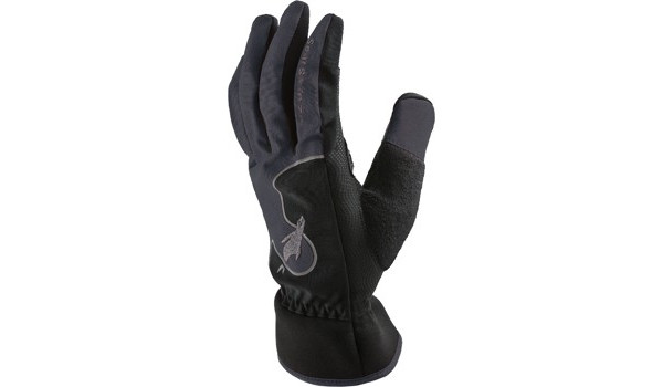 Performance Road Cycle Glove, Grey/Black 4