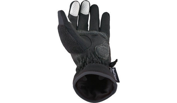 Performance Road Cycle Glove, Grey/Black 3