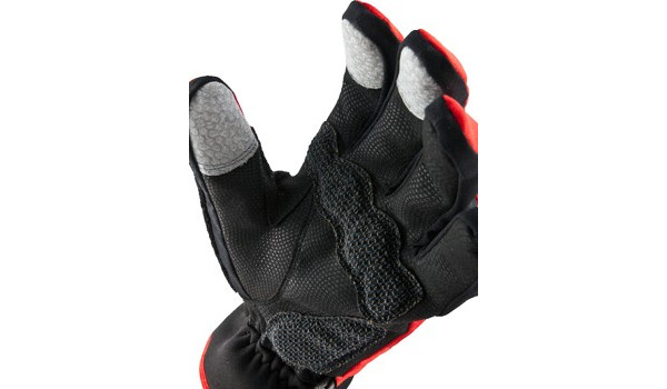 Performance Road Cycle Glove, Red/Black 5