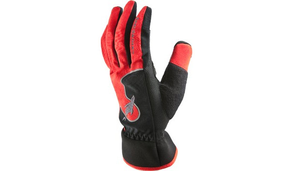 Performance Road Cycle Glove, Red/Black 4