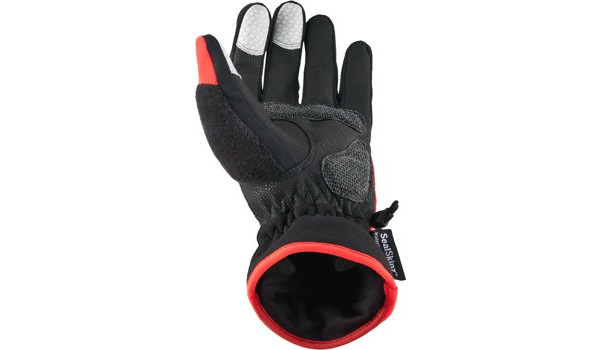 Performance Road Cycle Glove, Red/Black 3