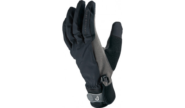 All Weather Cycle Glove Men, Black/Grey 4