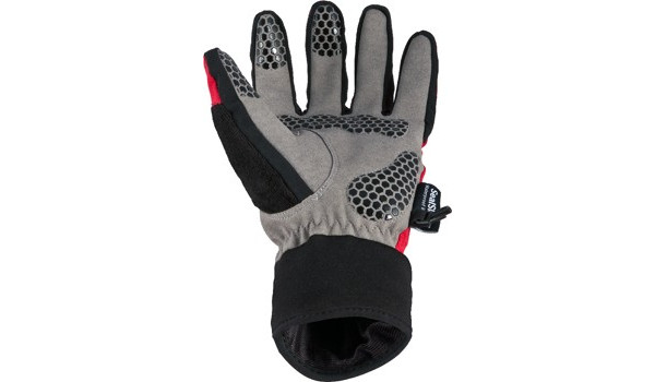 All Weather Cycle Glove Men, Red/Grey 3