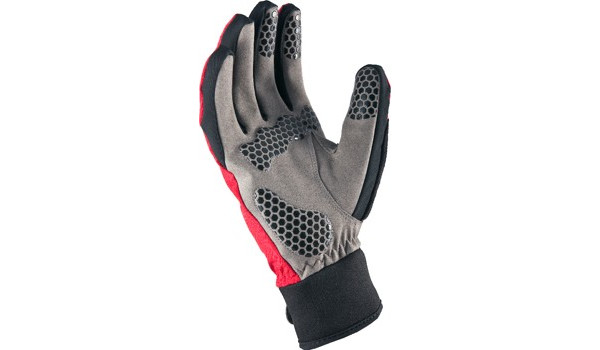All Weather Cycle Glove Men, Red/Grey 2