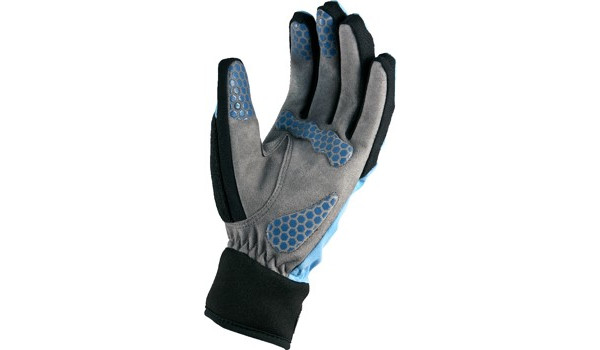 All Weather Cycle Glove Women, Black/Blue 6