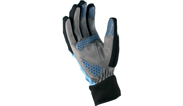 All Weather Cycle Glove Women, Black/Blue 2