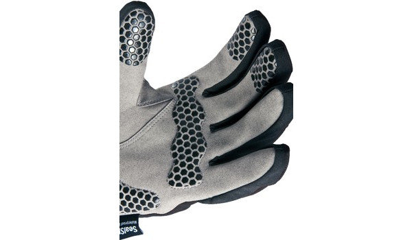 All Weather Cycle Glove Women, Black/Grey 5