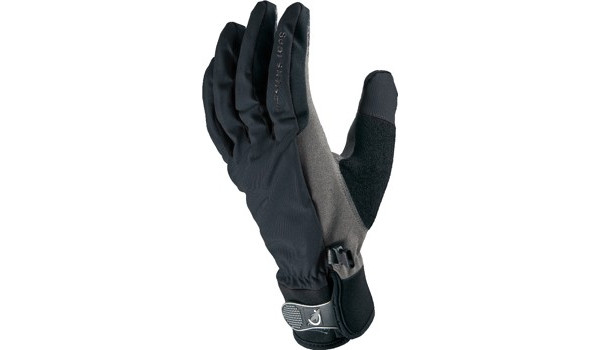 All Weather Cycle Glove Women, Black/Grey 4